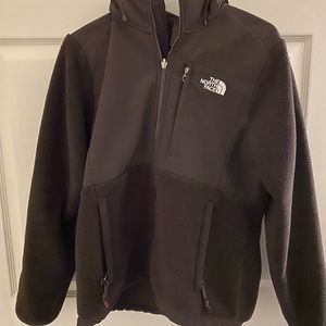 THE NORTH FACE TNF Denali Hooded Jacket Brown M